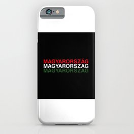 HUNGARY iPhone Case