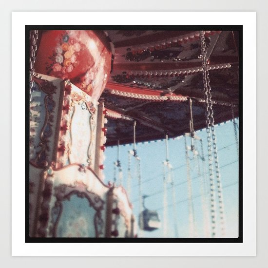 The State Fair Swing (An Instagram Series) Art Print