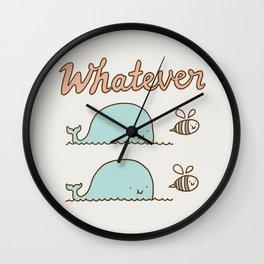 Que Sera Sera Wall Clock