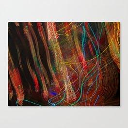 Dancing lights Canvas Print
