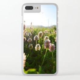 Close picture of Portulaca grandiflora Clear iPhone Case