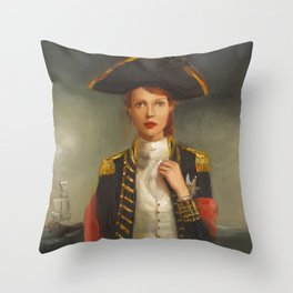 Her Face Launched A Thousand Ships Throw Pillow