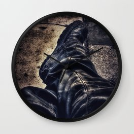The Rough Day Wall Clock