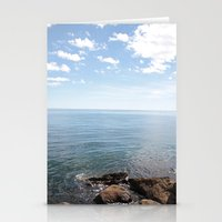 cape cod Stationery Cards featuring Cape Cod by lhcreative