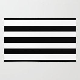 B&W wide stripes Rug