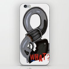And What? iPhone & iPod Skin