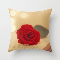 Romance Novel Throw Pillow