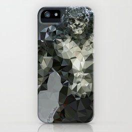 Killer Croc Lowpoly iPhone Case