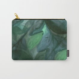 Shades of Evening Leaf Abstract Carry-All Pouch