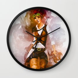 Cowgirl Wall Clock