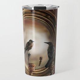Brooke Figer - Reflection on Perception Travel Mug