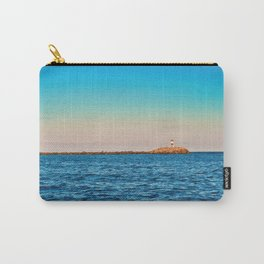 Lighthouse on The Rocks Carry-All Pouch