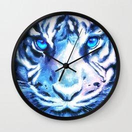 White Tiger   Snow Tiger   Tiger Face   Space Tiger Wall Clock