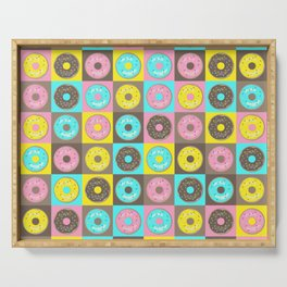 Check Out the Donuts! Serving Tray
