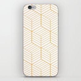 ZADA ((funky orange)) iPhone Skin