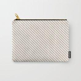 Hazelnut Stripe Carry-All Pouch