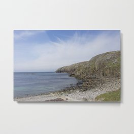 Beach Lewis and Harris 1 Metal Print