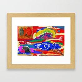 Candid Framed Art Print