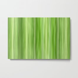 Ambient 3 in Key Lime Green Metal Print
