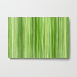 Ambient 3 in Key Lime Green Metal Print
