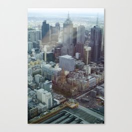 Melbourne from Eureka Canvas Print