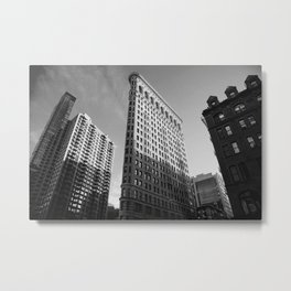 NYC Flatiron Building Metal Print