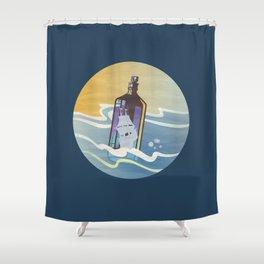 Ghost Ship 2 Shower Curtain