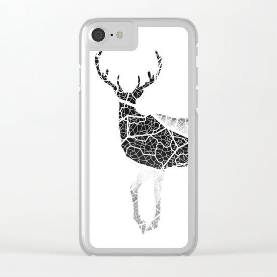 Deer Fiber Clear iPhone Case
