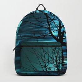 Tree in Ocean Backpack
