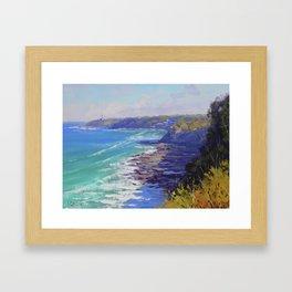 Norah Head Australia Framed Art Print