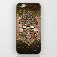 sansa stark iPhone & iPod Skins featuring Sansa by The Brass Clasp