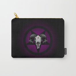 Pentaskull (Purple) Carry-All Pouch