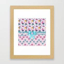 Little Treasures From Sea Framed Art Print