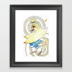 PrinceBird Framed Art Print