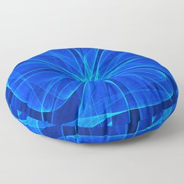 Tulles Propeller Computer Art Floor Pillow