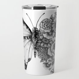 Butterfly in Bloom Travel Mug