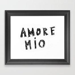 AMORE MIO Framed Art Print