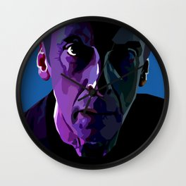 The face of Who Wall Clock