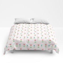 Cute Tulip Pattern Comforters