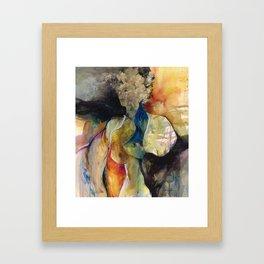 Her Blue Bird by Kathy Morton Stanion Framed Art Print