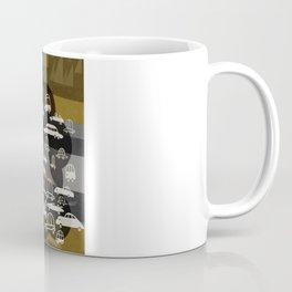 automobiles in a jam Coffee Mug