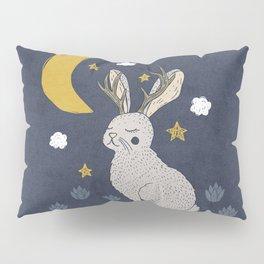 Serene Jackalope Pillow Sham