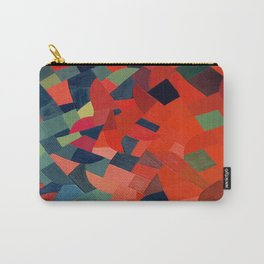 Grün-Rot Otto Freundlich 1939 Abstract Art Mid Century Modern Geometric Colorful Shapes Hard Edge Carry-All Pouch