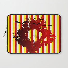 Abstract colorful striped Laptop Sleeve