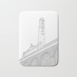London Truman Chimney - Line Art Bath Mat