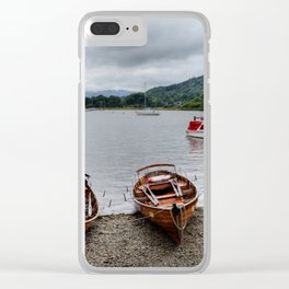Ambleside Boats Clear iPhone Case