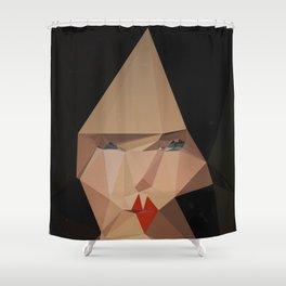 pretty face Shower Curtain