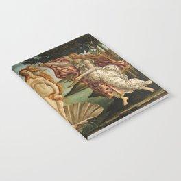 Birth Of Venus Sandro Botticelli Nascita di Venere Notebook