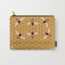 Dances With Bees Carry-All Pouch