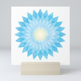 Lotus Flower Mandala Mini Art Print